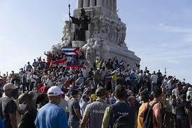 unprecedented anti-government protests ...
