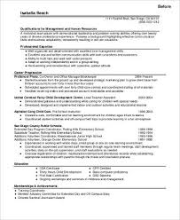 Resume Template For Career Change Stunning Career Change Resume Template Brianhansme