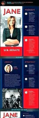 Campaign Brochure Political Campaign Templates Free Luxury Election Brochure