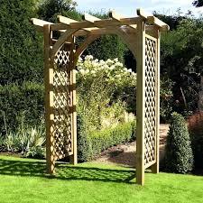 wooden garden arch large wooden garden arch new wooden garden arch argos