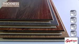 laminate thickness explained laminate flooring project 5 carpetright you