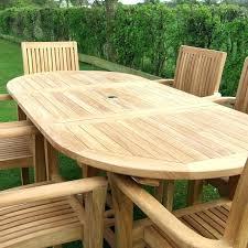 refinish teak table oval outdoor dining danish furniture wood patio refinishing tabl