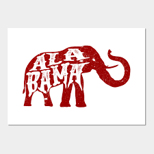 1775659 0 on alabama elephant wall art with alabama elephant crimson distressed alabama football wall art