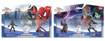 infinity 2. disney infinity 2.0 spider-man or guardians of the galaxy playsets only £12.99 2