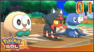 Pokémon Sol [EN VIVO] Capítulo 1 - Iniciamos el viaje a Alola ! - YouTube