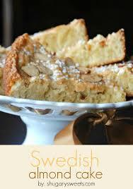 Swedish Almond Cake Shugary Sweets