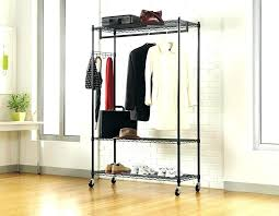 portable clothing rack clothes rack furniture steel garment rack small portable closet garment rack heavy duty