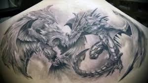 тату 3d дракон 50 татуировок с драконом в объеме