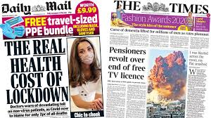 Related to tabloid examples for students. Newspaper Headlines Beirut In Agony And Hidden Victims Of Pandemic Bbc News