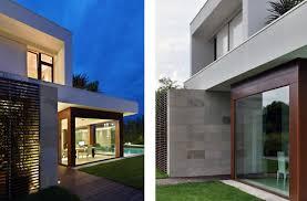 Cozy Exterior Ideas At Modern House Of Light Maison De La Lumière - Modern houses interior and exterior