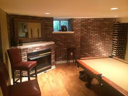 brick veneer fireplace after 1