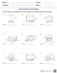 Surface Area Of Prisms And Cylinders Worksheet Free Worksheets ...