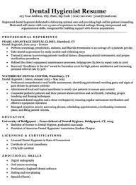 Sample Dental Hygiene Resume Dental Resume Examples Writing Tips Resume Companion