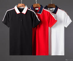 New Polo T Shirt Designs 2019 Hot 2019 New Polo Shirt Men Brand Designer Bee Embroidery Big Size M 3xl Short Sleeve Summer Casual Cotton Print Polo Shirts Mens From Feng66
