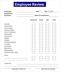 sample employee evaluations employee review military bralicious co