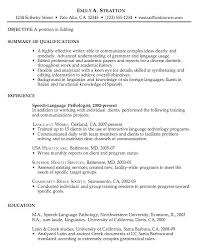 Examples Of Great Resume Wlcolombia