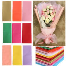 Paper Origami Flower Making Wrapping Packing Diy Craft Origami Flower Making Scrapbooking Tissue