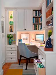 decorating ideas for work office. Small Work Office Decorating Ideas For Women With Amazing Built In Cabinet And Cute Wall Design