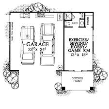 Garage Plans With Office Garage Plan 99295 Level One Plans With Office A
