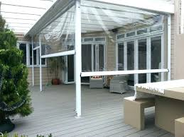 clear outdoor curtains vinyl plastic patio walls canada