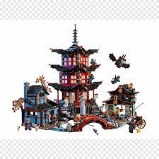 Lego Ninjago Toy Lego minifigure Kiddiwinks LEGO Store (Forest Glade House),  temple, christmas Decoration, religion png