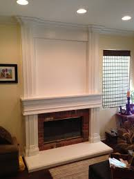 fireplace mantle after picture custom mantel