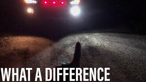 LED VS. <b>HALOGEN FOG LIGHTS</b> - YouTube