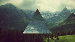 triangles manition hipster abstract wallpaper