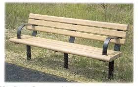 plastic lumber benches