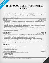 Technology Architect Resume (resumecompanion.com) #Tech