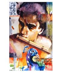 myindianart original painting by pranab roy