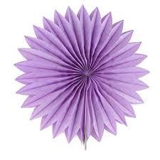 Flower Made By Paper Folding Amazon Com Uxcell Tissue Paper Folding Fan Flower Light Purple For
