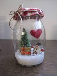Barattoli di vetro con decorazioni natalizie : accessori casa di