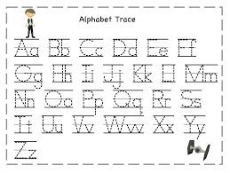 Tracing Letters Free Printable Tracing Alphabet Worksheet ...