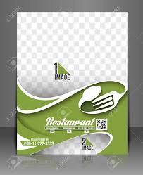 Restaurant Hotel Flyer Menu Card Template Royalty Free Cliparts