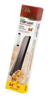 zilla reptile strip light t8 desert fixture 24 inch s