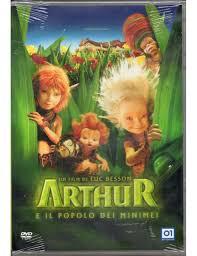 Arthur e il popolo dei minimei - dvd - nuovo