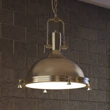 industrial pendant lighting. Vonn Lighting Dorado 16-inches LED Pendant Light Adjustable Hanging Industrial In Satin Nickel - Free Shipping Today Overstock.com