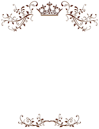 Border Template For Word Simple Pin By Muse Printables On Page Borders And Border Clip Art
