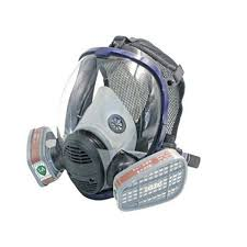6800 gas mask with no 3 cartridge filters respirator masks respirators for painting anti