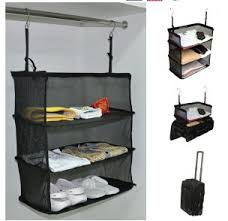 Clothes hanging shelf Rod Image Unavailable Amazoncom Amazoncom Travel Luggage Storage Suitcase Hanging Shelves To Go