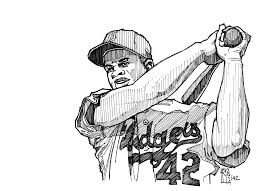 Small Picture Coloring Jackie Robinson Page And diaetme