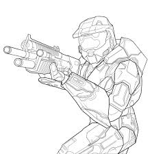 Small Picture Free Printable Halo Coloring Pages For Kids Halo Coloring Pages In