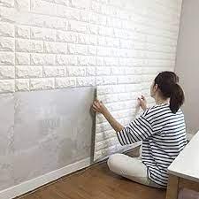 3D Brick Pattern Self Adhesive Wallpaper