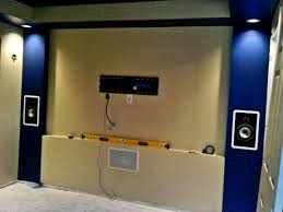 home theater front speakers. puyallup, wa home theater front screen wall speakers p