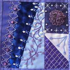 612 best Crazy Quilting images on Pinterest | Crafts, Embroidered ... & CQJP 2012 Blog: Gerry H., CO, USA. Crazy Quilt ... Adamdwight.com