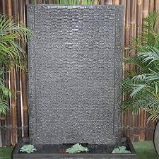 indoor outdoor wall fountains