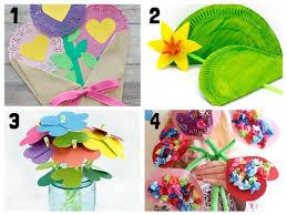 Paper Flower Craft Ideas 20 Pretty Flower Crafts For Kids Kids Craft Room