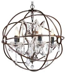 metal sphere chandelier karma 5 light sphere crystal chandelier iron rust finish metal sphere chandelier uk metal sphere chandelier