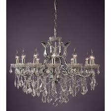 chrome chandelier 12 arm